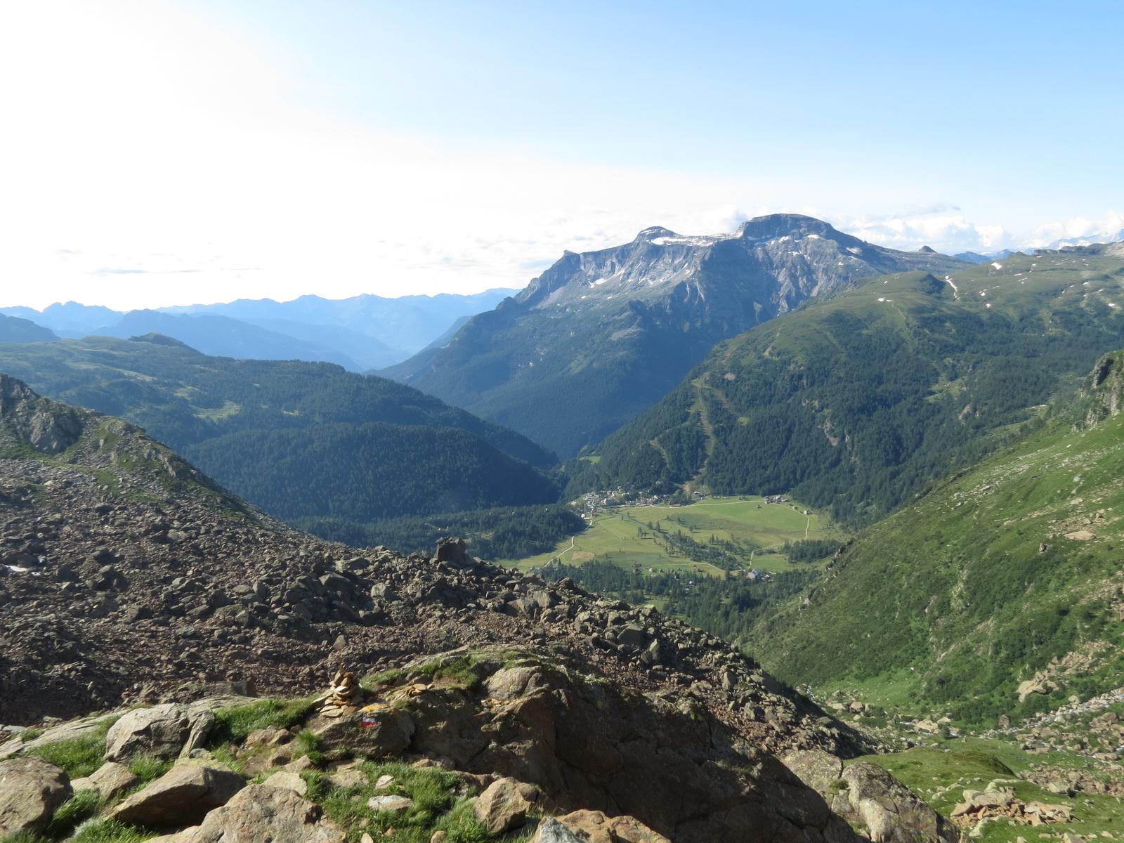 Binntal et sa région août 2013